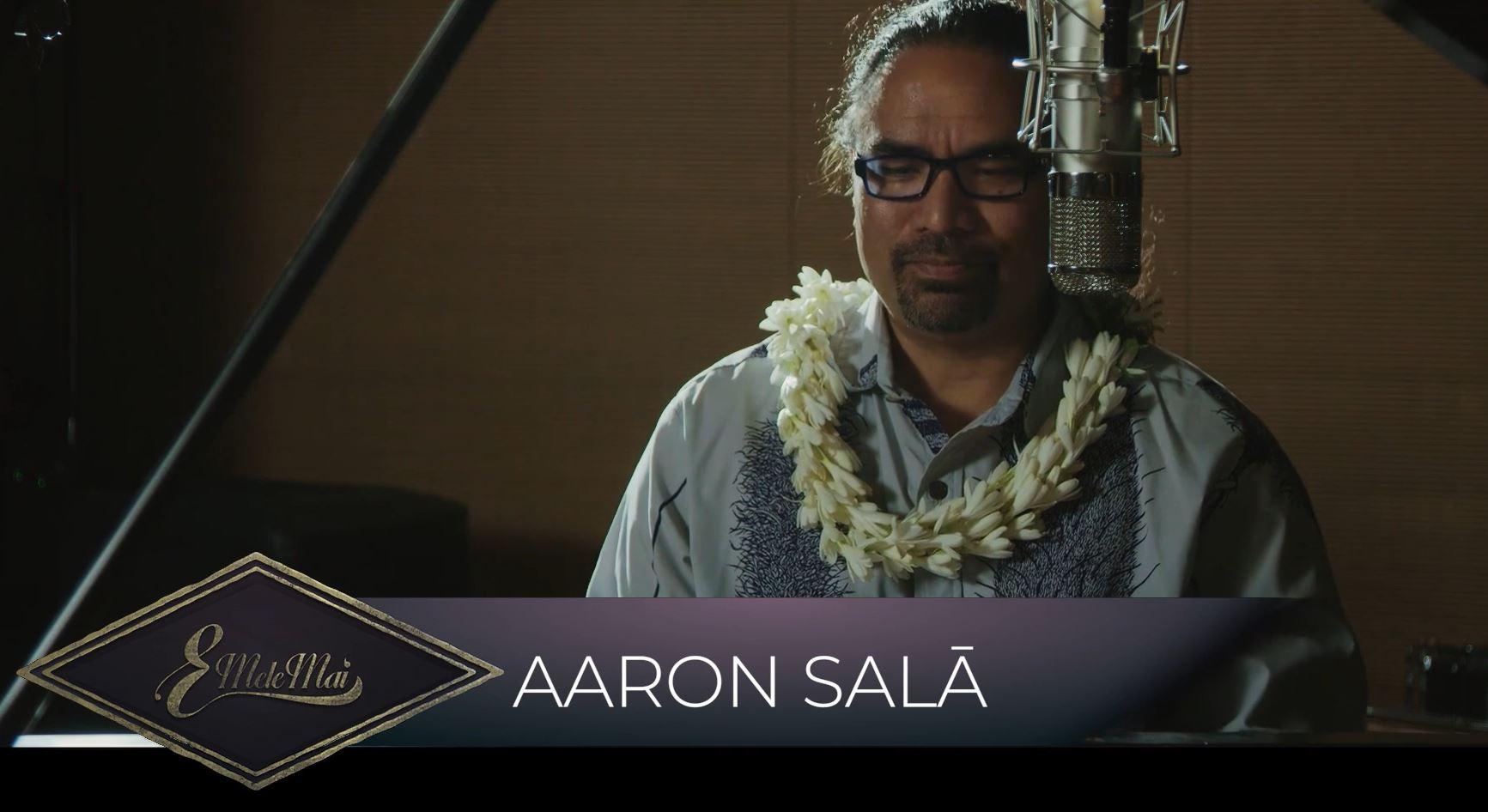 Aaron Salā メインビジュアル